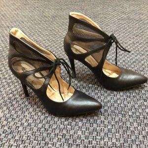 ShoeDazzle * Black Ankle Booties * Size 9.5